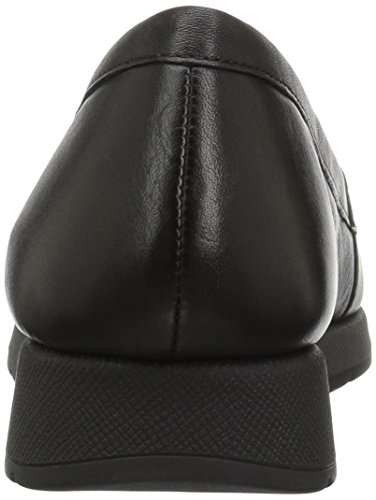 Aerosoler Kvinna Ledigt Öre Loafer Svart Läder