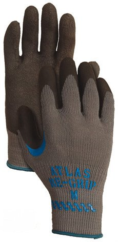 Showa Atlas Re-Grip 330 Coated Work Gloves - Size: Large - Unit: Dozen Pairs (12)