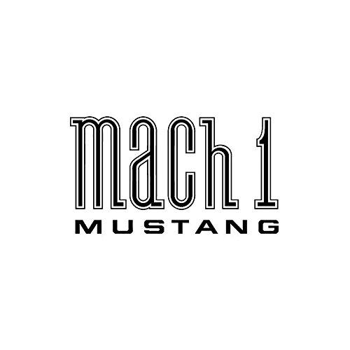 MACs Auto Parts 44-47479 Mustang Mach 1 Fender Decal - Black