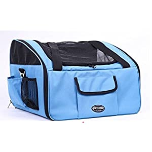 edahbjnest5mk Pet carrier/Cat/Dog Car Seat/Carrier dog car seat/pet cart pushchair/(Cream, 403426 cm)