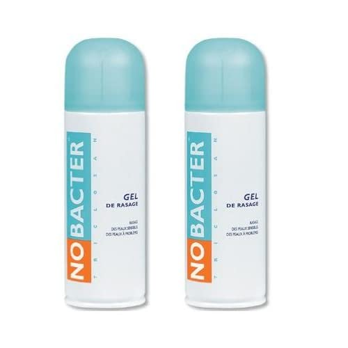 Nobacter Gel de Rasage Lot de 2 x 150 ml