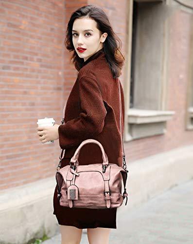 à sac main dames à sac tendance simple bandoulière 12cm à 24 Nouveau mode bandoulière Rose 30 sac fFTqgIf