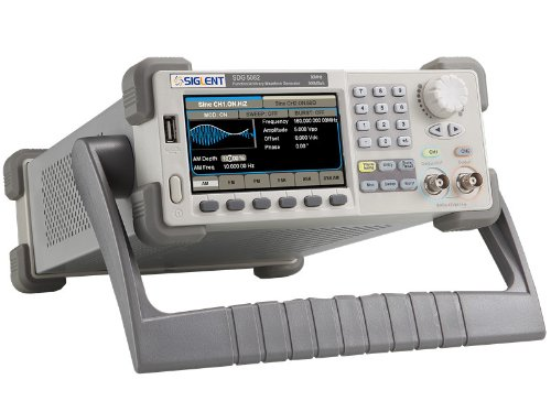 "Siglent SDG5082 4.3"" TFT-LCD Function/Arbitrary Waveform Generator, 116Dbc/Hz 2Ppm High Frequency, 2 Channels"