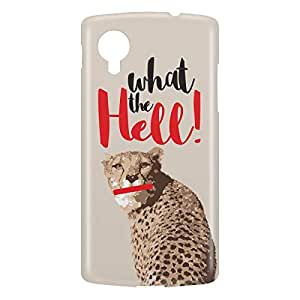 Loud Universe Nexus 5 Cheetah What The Hell! Print 3D Wrap Around Case - Multi Color