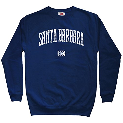 Smash Transit Men's Santa Barbara 805 Sweatshirt - Navy, Large ()