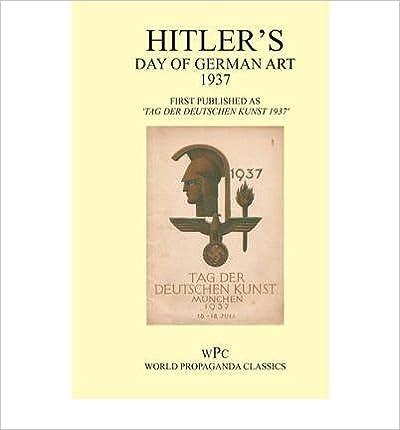 Book Hitler's Day of German Art 1937 - First Published as 'Tag Der Deutschen Kunst Munchen 1937'- Common