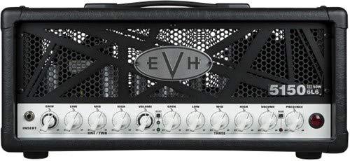EVH 5150 III 50W 6L6 Amplifier Head - Black