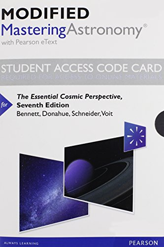 Essential Cosmic Perspective Access