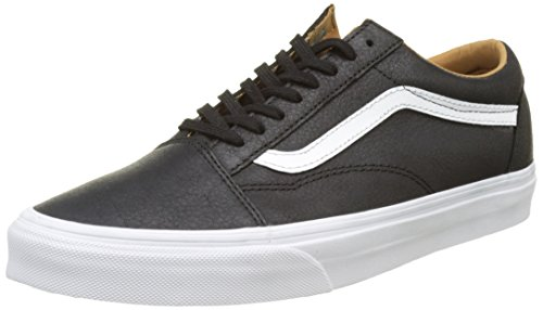 Scarpe Skool Old Black True Premium Basse Ginnastica Vans Nero UA da White Leather Uomo qSt5wax