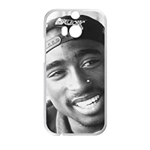 DAZHAHUI thug life tupac Phone Case for HTC One M8