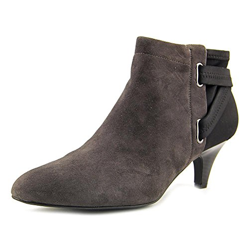 Alfani Fashion Boots Almond Vandela2 Black Womens Anthracite Toe Ankle gqwT4Wf1gx