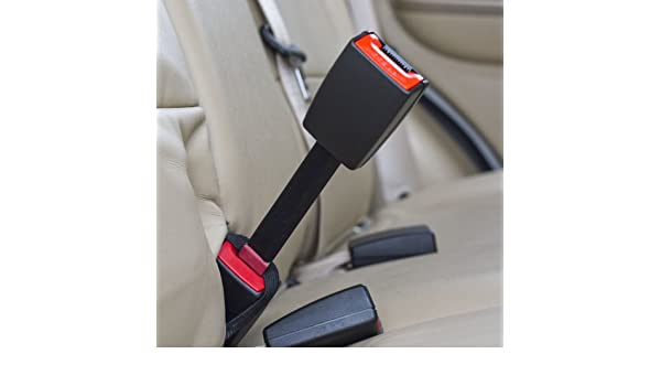 Irregular - Type B: 1 Tongue Width Buckle Up /& Drive Safely Rigid 3 Seat Belt Extender Accessory - E-Mark Safety Certified