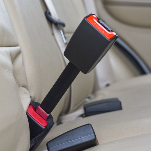 Seat Belt Extender Pros E4 Safety Certified Adjustable 9-26 Inch Seat Belt Extender 2-Pack Black Buckle up for Safe Driving 7//8 Inch Width Type A Metal Tongue
