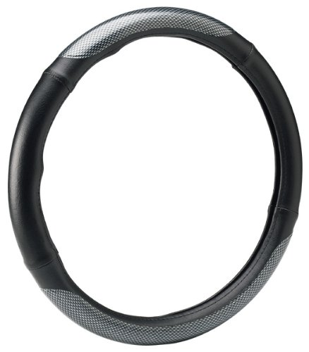 Bell Automotive 22-1-52843-1 Universal Carbon Fiber Steering Wheel Cover ()