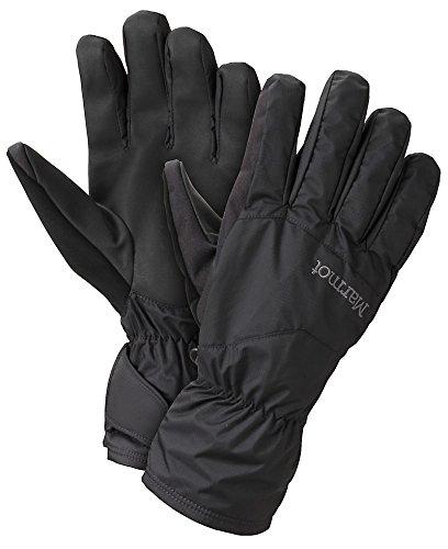 Marmot Mens PreCip Undercuff Glove, Black, M