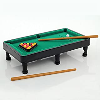 Generic Ycuk2_ 150815_ 12 Pp0584table Lot–Table de billard Mini de bureau–Balles de table Desk Top queues et Rack Pp0584Mini Bureau
