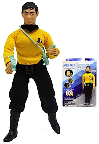 Lt. Sulu Star Trek Classic 8 MEGO Action Figure Re-Issue