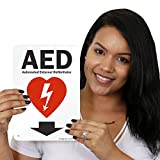 """SmartSign """"AED - Automated External"""
