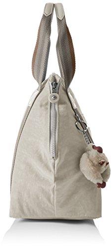 Kipling Damen Art S Shopper, 44x27x0.1 cm Beige (Pastel Beige C)