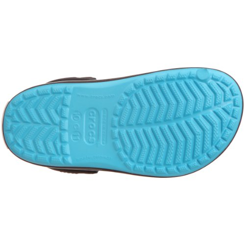Crocs Crocband, Unisex - Kinder Clogs Blau (Electric Blue/brown)