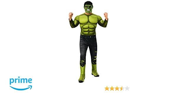 Rubies Mens Marvel Avengers Infinity War Hulk Deluxe Costume, Standard