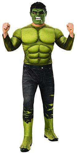 Rubie's Men's Marvel Avengers Infinity War Hulk Deluxe Costume, -