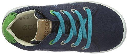 ECCO ECCO FIRST - Botines de Senderismo Bebé-Niños Azul (MARINE/WHISKY/MARINE59991)