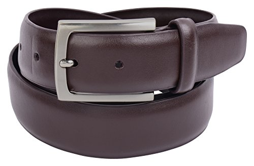 Mens Brown Leather Belt Vellette