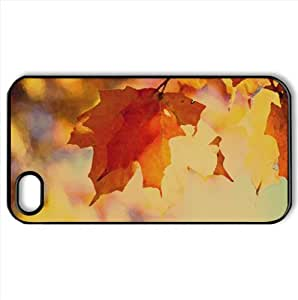 Autumn Is Here! Watercolor style Cover iPhone 4 and 4S Case (Autumn Watercolor style Cover iPhone 4 and 4S Case)