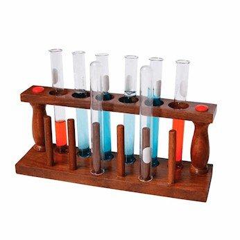 Cole-Parmer Wooden Test Tube Holder, 1/ea
