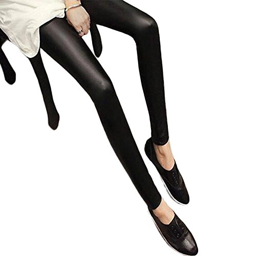 NEW!! Black Women Leggings Faux Leather Slim Leggings New Fashion Plus Size Elasticity Sexy Pants (Hot Costumes For Couples)