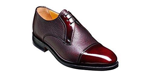 Barker Zapatos Shoes De Hombre Cordones Piel Rojo Para Granate OrOqxawSP