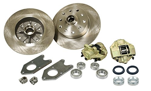 EMPI 22-2990-0 VW Link Pin Style Bolt-On Disc Brake Kit, 5/130 Porsche by Empi