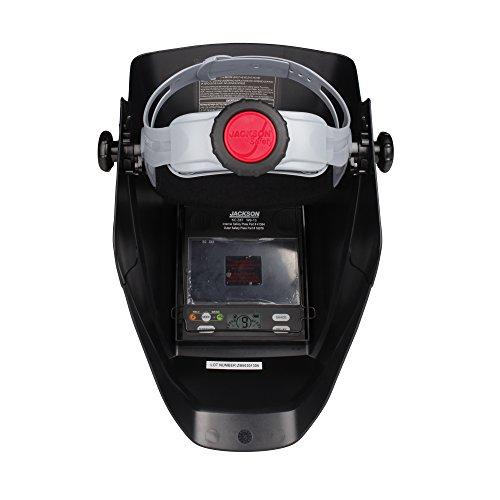 Jackson Safety Insight Variable Auto Darkening Welding Helmet (46129), HSL100, ADF, Black by Jackson Safety (Image #5)