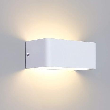 SISVIV Applique da Parete Interni Lampada da Parete Moderno 6W LED Illuminazione da Muro in Alluminio per Decorazione Soggiorno Camera da Letto