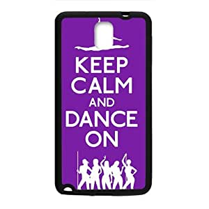 Keep Calm And Dance ON Hot Seller Stylish Hard Case For Samsung Galaxy Note3
