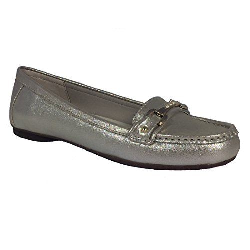 Anne Klein Women's, Kolleen Slip on Shoes Gold Light 8 M