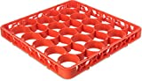 Carlisle REW30SC24 OptiClean NeWave 30 Compartment Glass Rack Extender, Orange (Pack of 6)