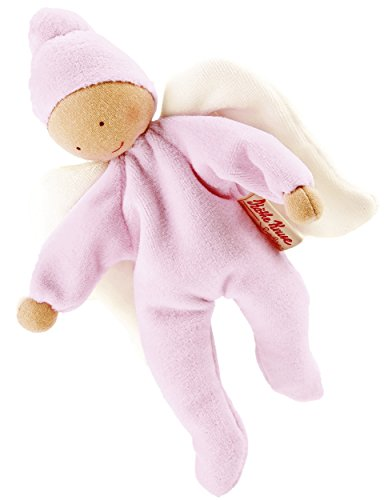 Kathe Kruse - Nickibaby Angel Doll, Rose
