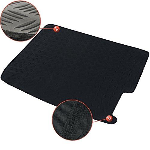 DBS - 1766233 - Tapis de Coffre Auto/Voiture - sur Mesure - Caoutchouc Haute Qualité - Antidérapant - Simple d'entretien