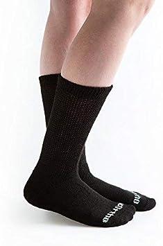 12 paires//1Dz ras-du-cou Diabetic circulatoire chaussettes santé femme coton 9 10-15 Low White