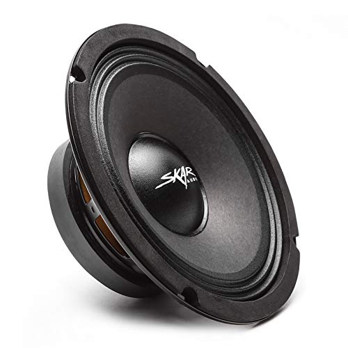 Skar Audio FSX8-4 350-Watt Single 8-Inch 4 Ohm Mid-Range Loudspeaker
