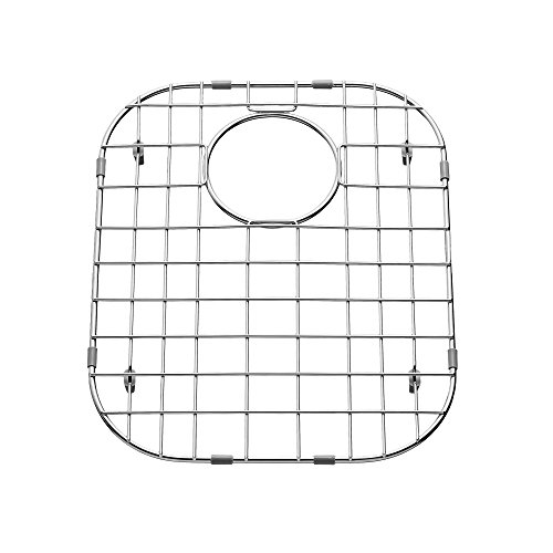 (American Standard 8446.312000L.075 Portsmouth 60/40 Double Grid-Left Bowl, Stainless Steel)