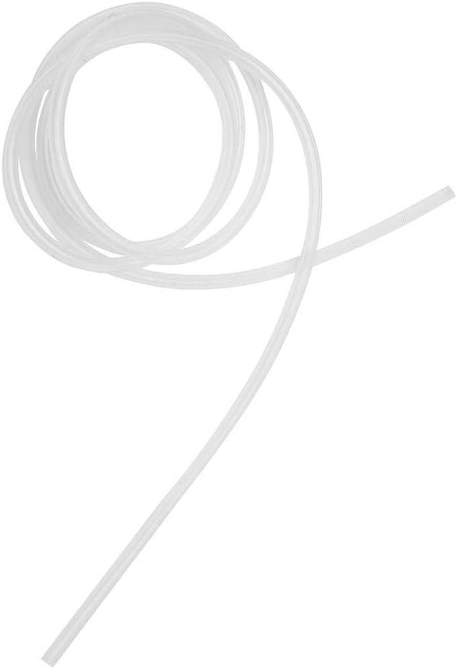 Tubo de silicona de 1 metro Manguera de bomba perist/áltica transparente de alta calidad alimentaria 1 mm x 3 mm//2 mm x 4 mm//3 mm x 5 mm 1mm*3mm
