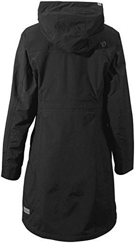 170 Thelma Didriksons Black RRP Coat Waterproof Womens nxpq8qAwvX