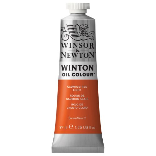 - Winsor & Newton Winton Oil Colour Paint, 37ml tube, Cadmium Red Light