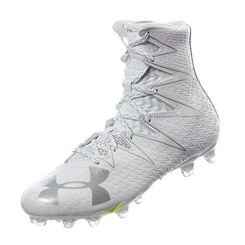 Under Armour Men's UA Highlight MC White/Metallic Silver 11.5 M US Athletic Shoe