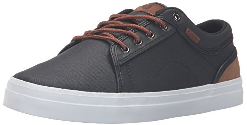 DVS Uomo 962 Blk Brn Nero Canvas Skateboard Scarpe Shoes Aversa da Cpaw1FqC