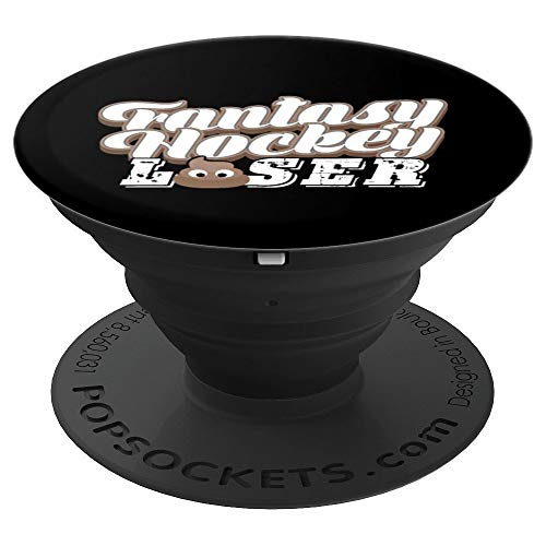Fantasy Hockey Gift League Draft Team Player Sports Loser - PopSockets Grip and Stand for Phones and Tablets