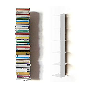 Wandregal bücher unsichtbar  Haseform Bücherturm 90 cm (für 1m Bücher) Weiss Bücherregal ...